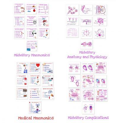 Midwifery Revision Bundle Includes
