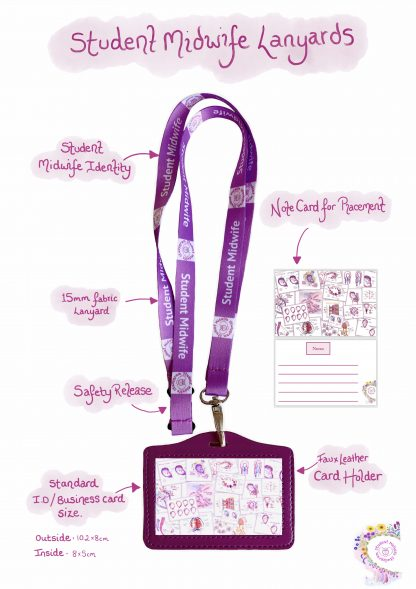 Student Midwife Lanyard
