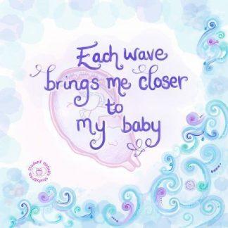 Wave Affirmation Poster
