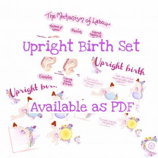 Upright Birth Set