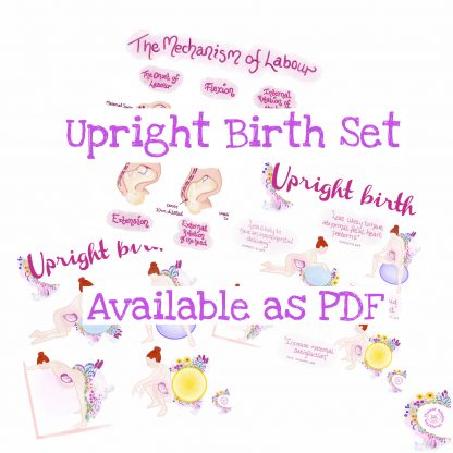 Upright Birth Set