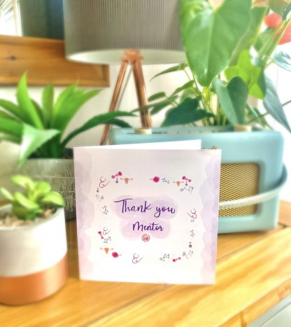 Thank You Mentor Folded Card
