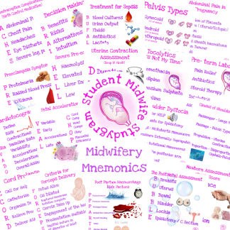 Midwifery Mnemonics Flashcards