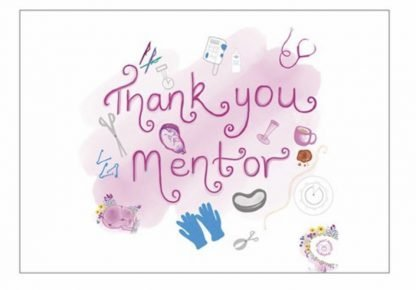 Thank You Mentor Postcard