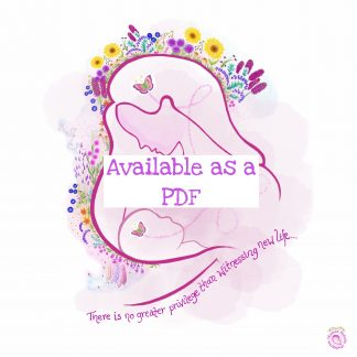 Birth Practitioner Affirmation PDF