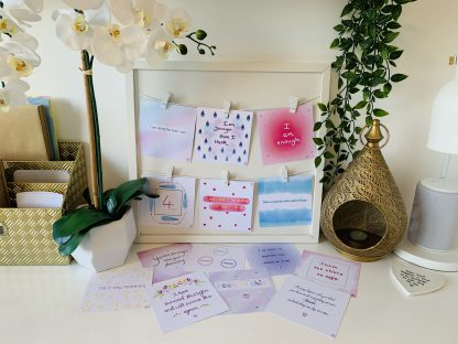Anxiety Cards on Display 4