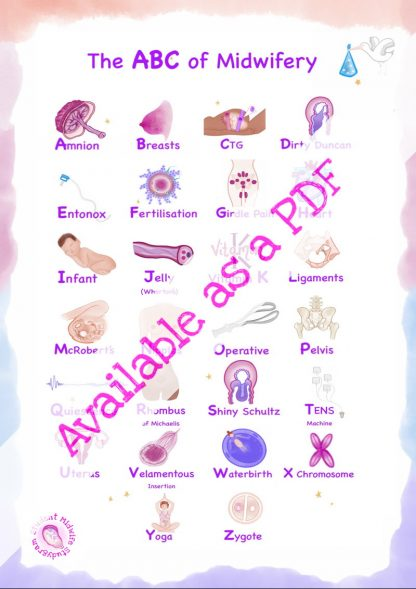 The ABCs of Midwifery Digital Download