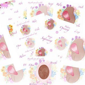 Hypnobirthing Illustration Bundle