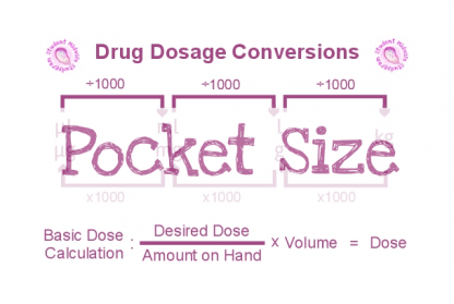 Drug Dose Conversions