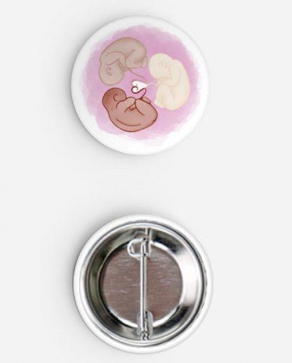 25mm round Button Badge