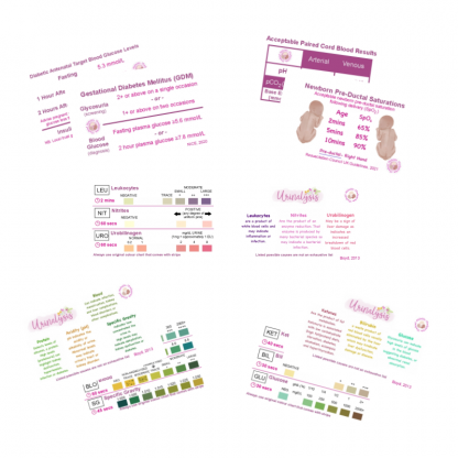 Midwifery Pocket Reference Cards - Pack 3